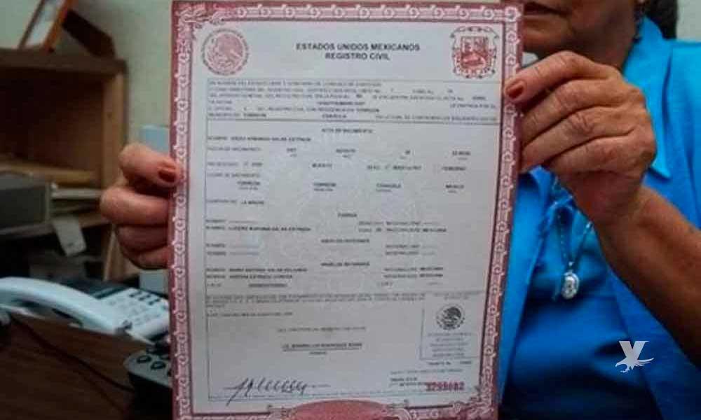 ¿Actas de nacimiento impresas en 'hoja blanca' son válidas en Baja California?