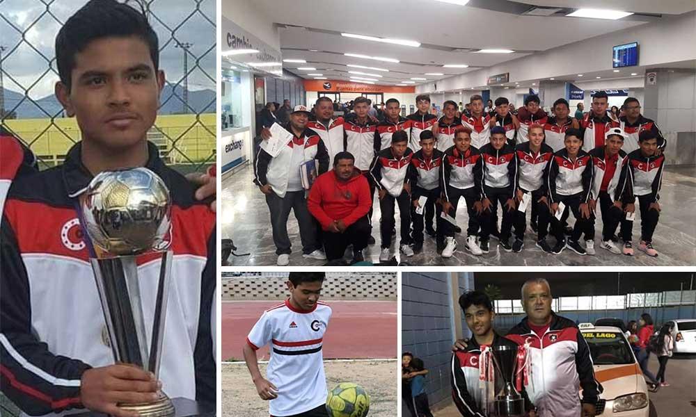 Va el Tecatense Ángel Molina por el Campeonato Nacional Scotiabank en Toluca, Estado de México