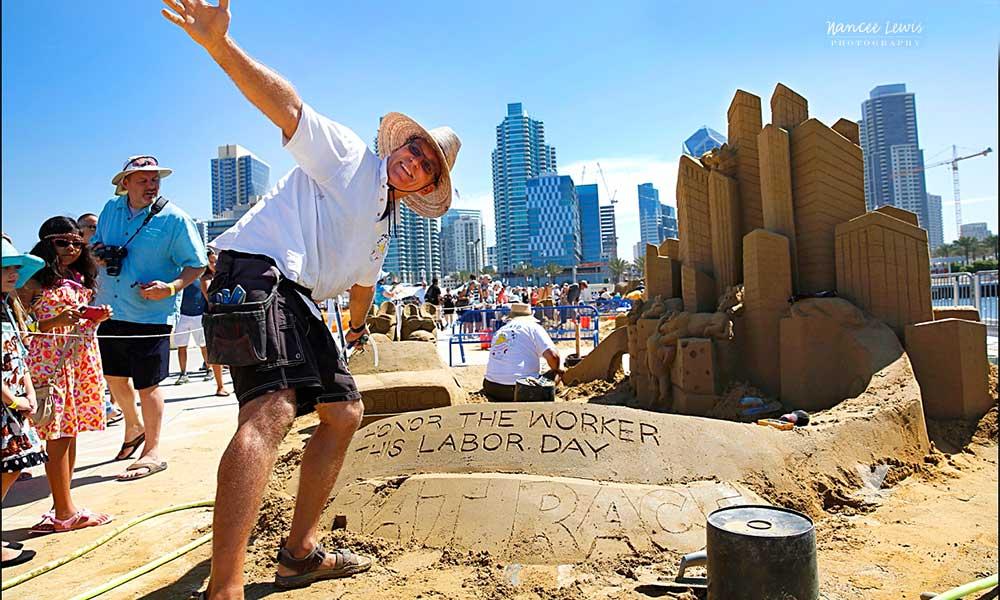 El desafío de escultura de arena más grande regresa el fin de semana de Labor Day a San Diego