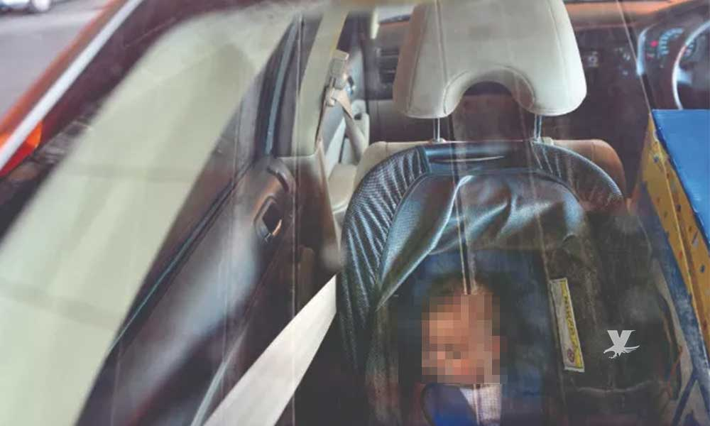 Bebé de poco más de un año muere al ser olvidada al interior de un automóvil