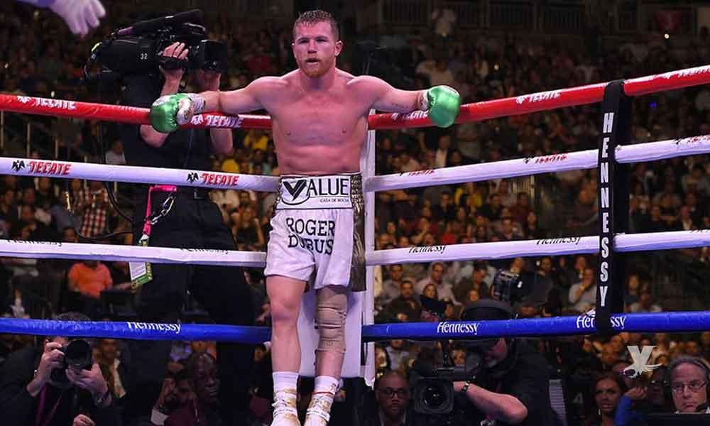 Quitan cinturón de campeón título medio a 'Canelo' Álvarez