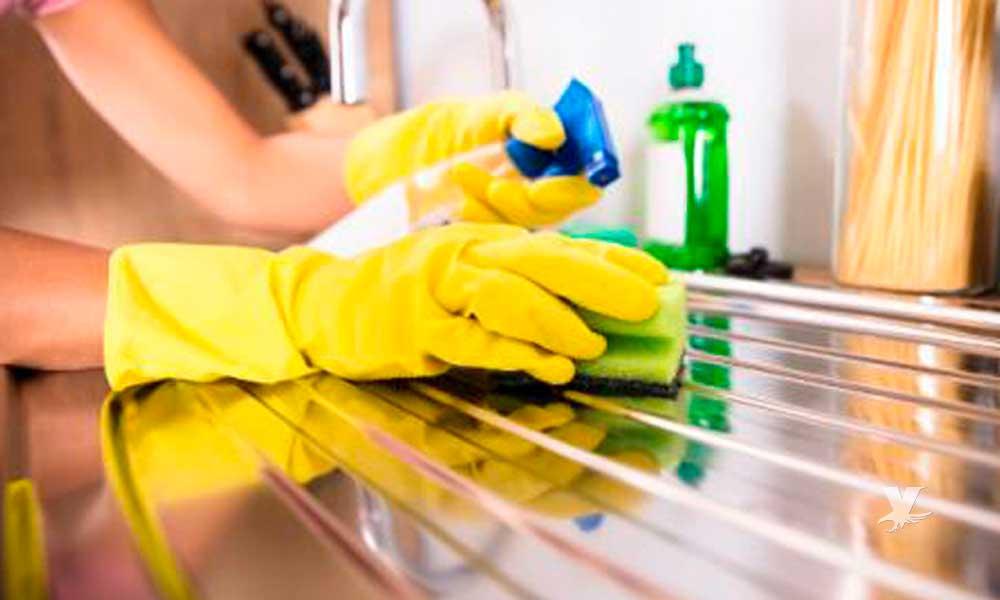 Limpiar con cloro puede afectar la salud