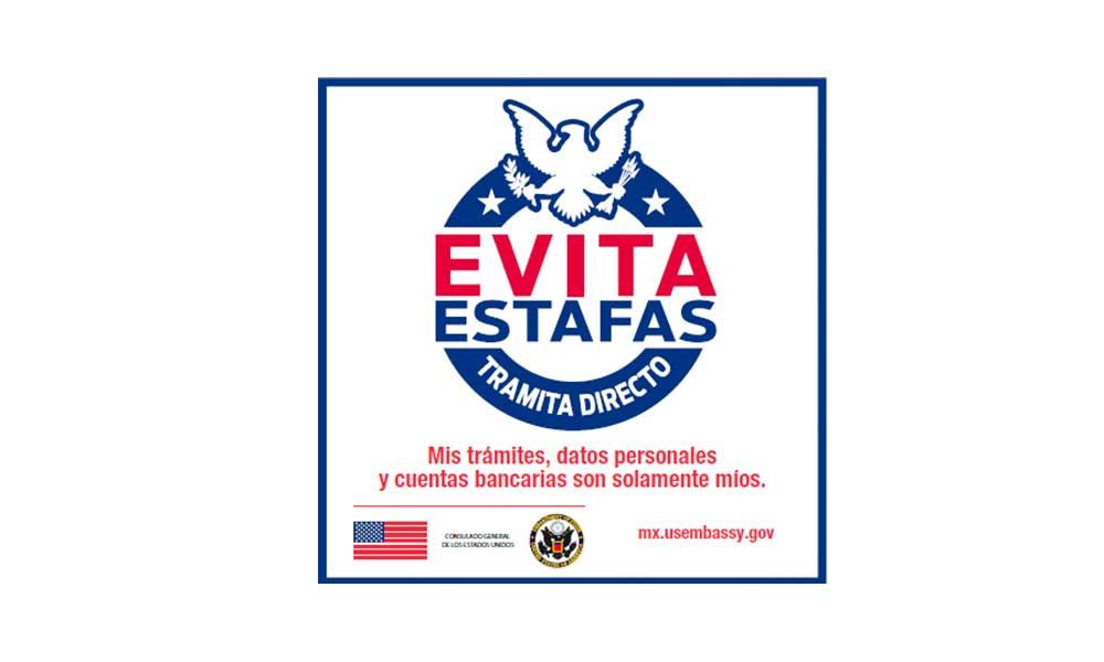 Solicita tu visa personalmente, ningún tercero puede obtener una cita con mayor rapidez que tú: Consulado