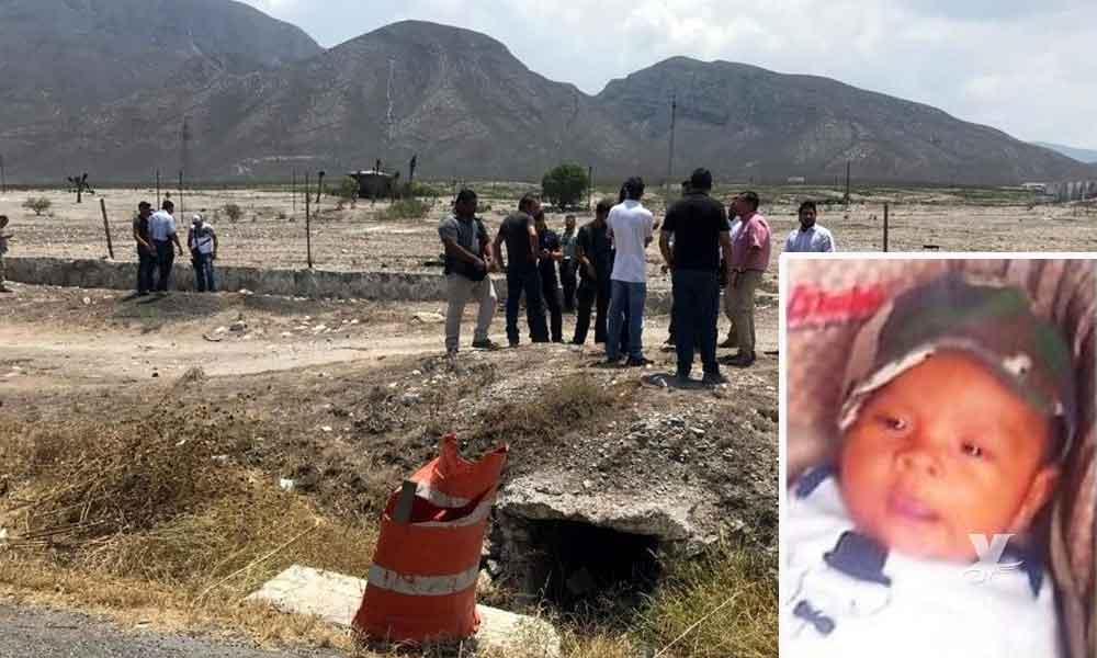 Encuentran muerto a Decker, bebé secuestrado en Nuevo León