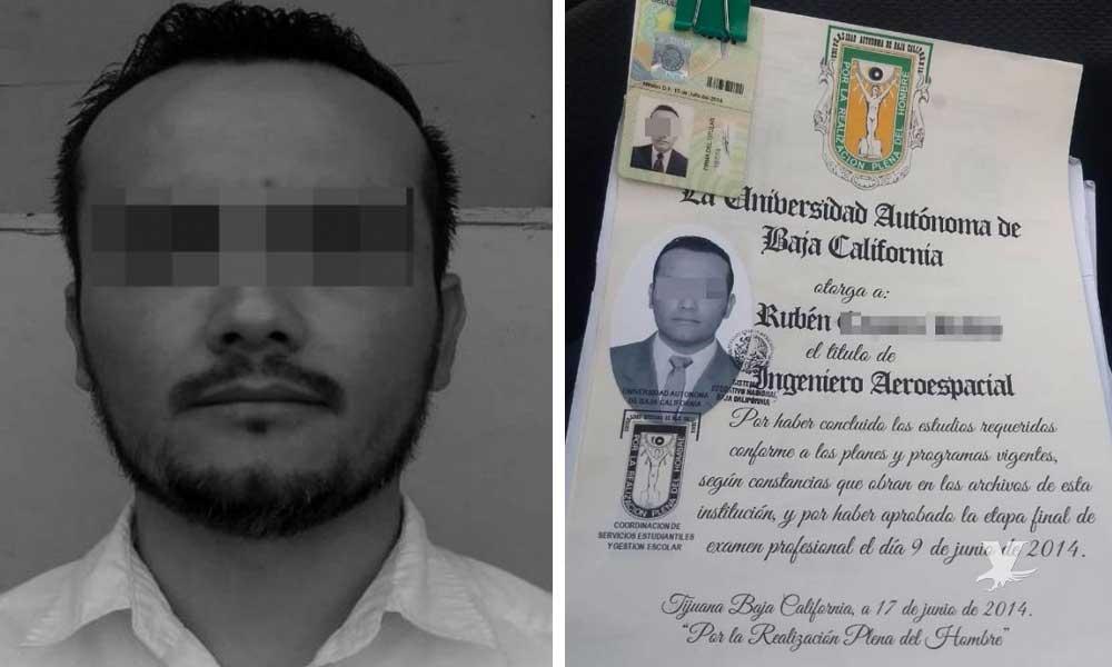 Detienen en Consulado a hombre que intentó tramitar VISA con título falso de la UABC