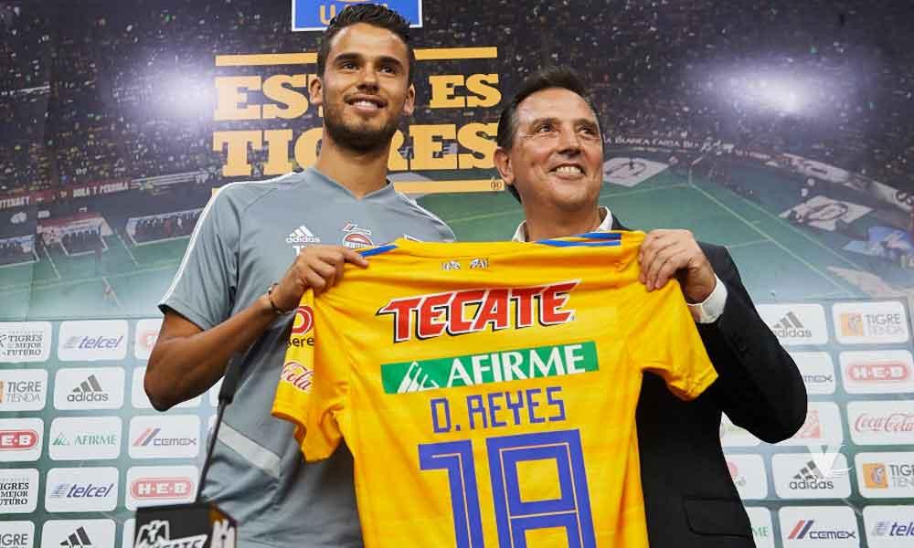 Diego Reyes prefiere a Tigres sobre el América