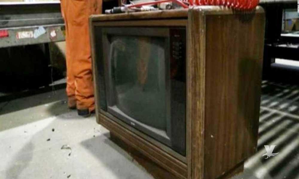 Inicia campaña de recolección donde puedes obtener hasta 10 mil pesos por una televisión vieja