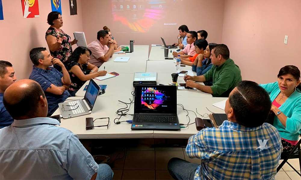 Docentes de Tecate presentes en la fase intensiva de los Consejos Técnicos Escolares