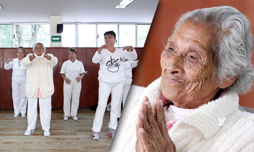 Fernandita a sus 99 años se mantiene activa y saludable: IMSS