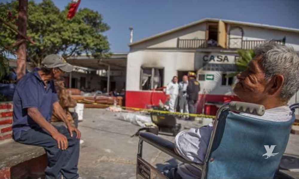 Mueren 4 abuelitos en un asilo de Tijuana tras un incendio