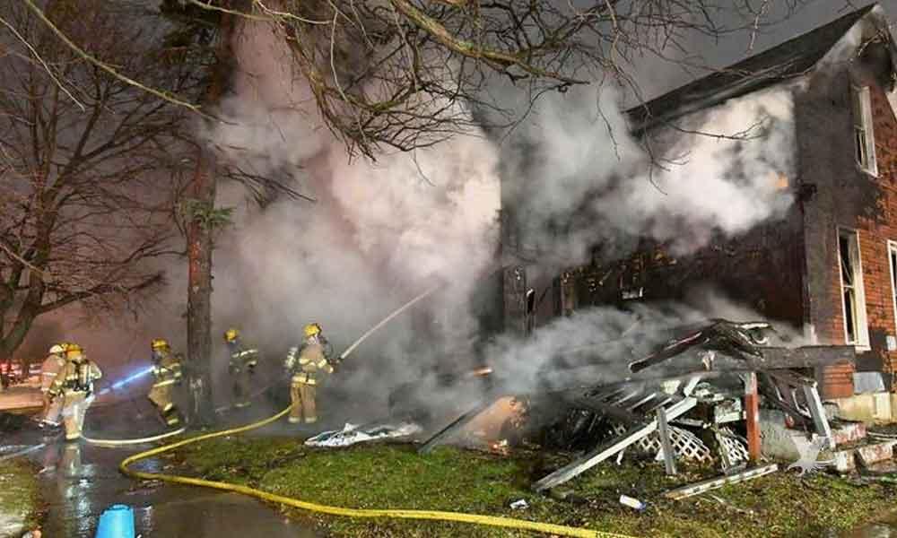 Incendio en guardería deja saldo de 5 niños muertos