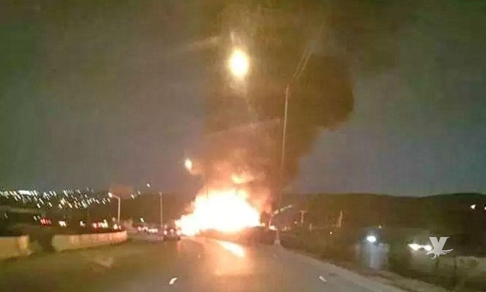 Muere mujer atrapada en incendio de Tijuana