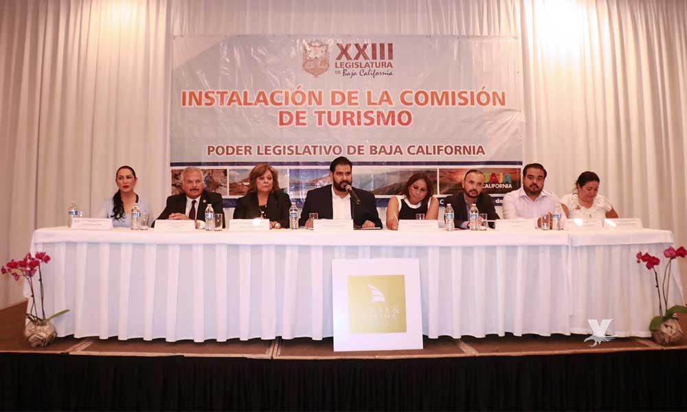 Instalan formalmente la Comisión de Turismo de la XXIII Legislatura