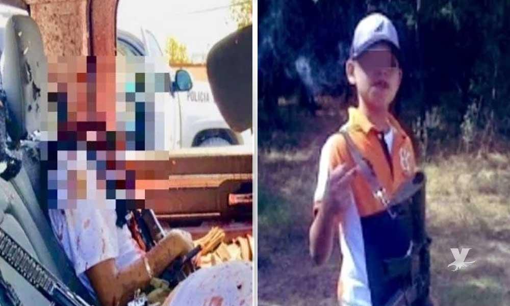 """Muere decapitado en balacera entre sicarios y autoridades """"Juanito Pistola"""", niño sicario del CDN"""