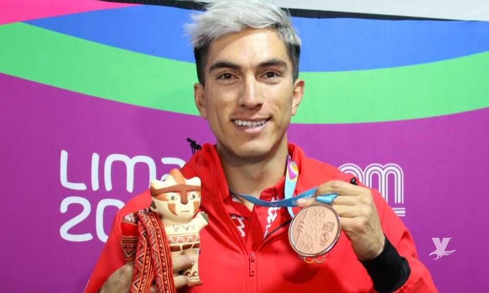 Atleta mexicano se declara gay después de ganar medalla de bronce en Lima 2019