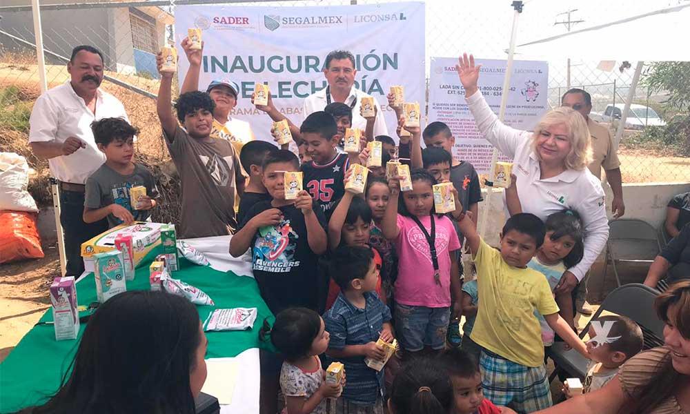 Ya son 25 lecherías LICONSA en Ensenada