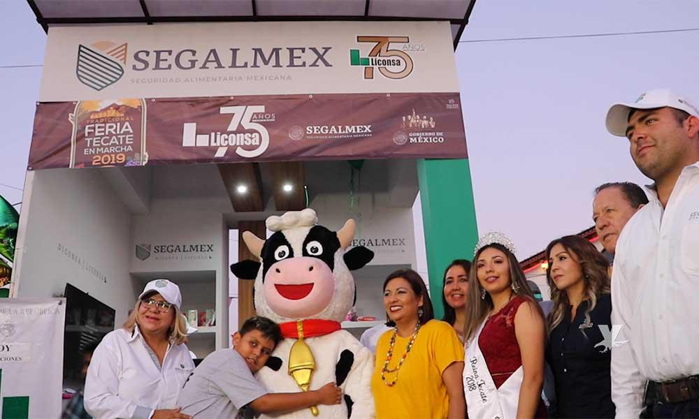 Un éxito en empadronamiento y venta de leche comercial Liconsa durante Feria Tecate en Marcha 2019