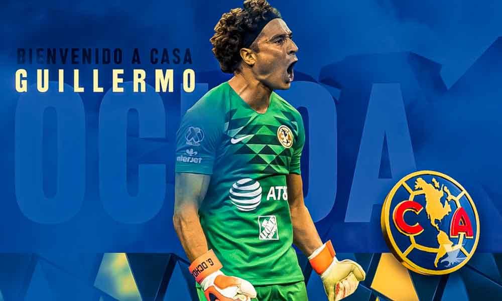 Oficialmente Guillermo Ochoa es jugador del América