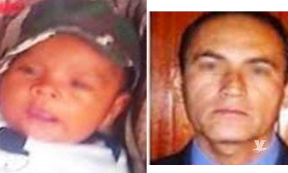 Hombre secuestra a bebé de 3 meses de nacido tras matar al padre y atar a la madre