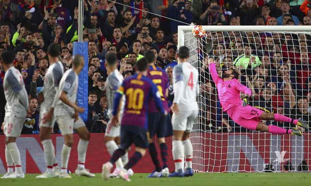 Gol de tiro libre de Messi es el ganador al mejor de la UEFA 2018-19