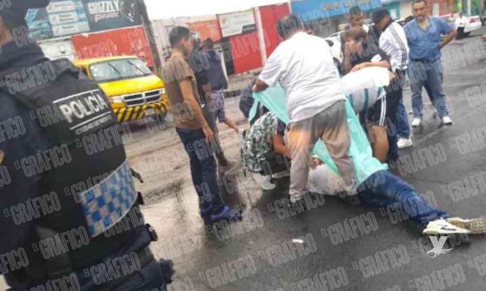 (VIDEO) Ladrón es abatido mientras intentaba asaltar a un hombre