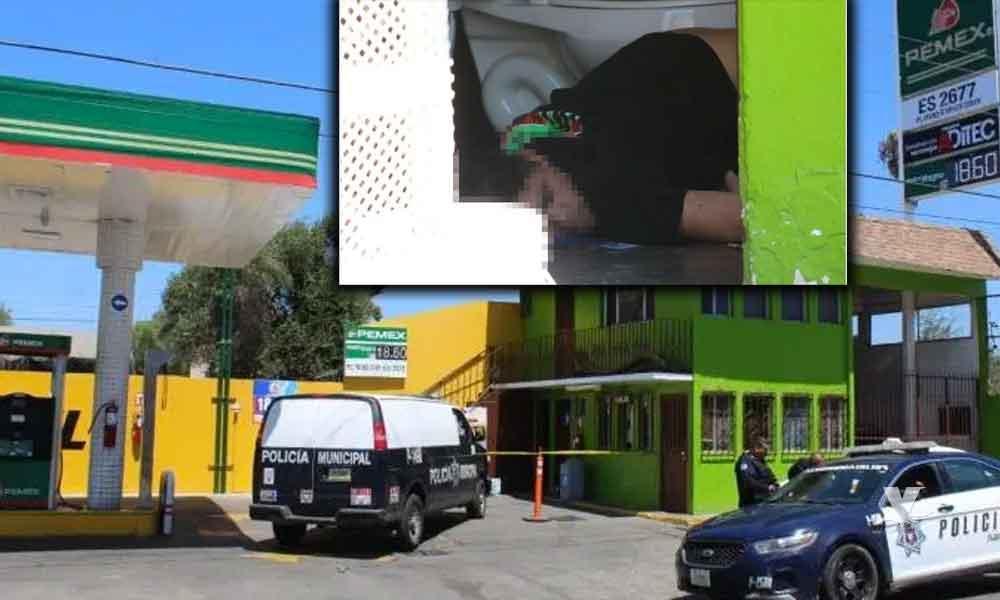 Joven es encontrado muerto en el baño de una gasolinera en Tijuana