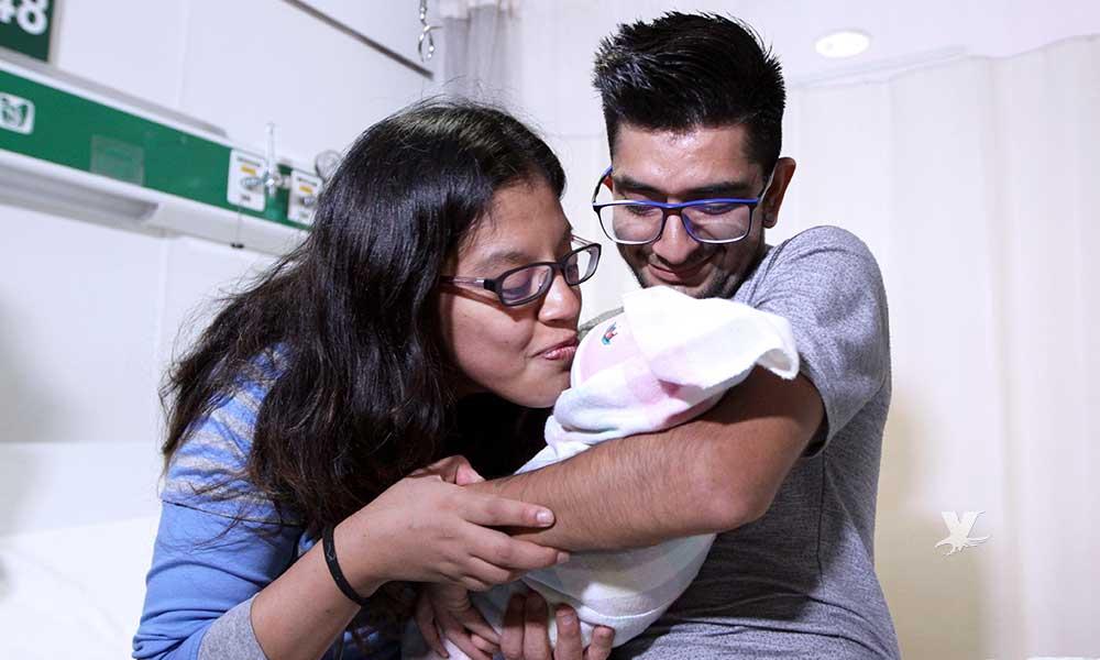 El lenguaje no fue una barrera, mujer  sordomuda da a luz a bebé de 3 kilos de peso en el IMSS