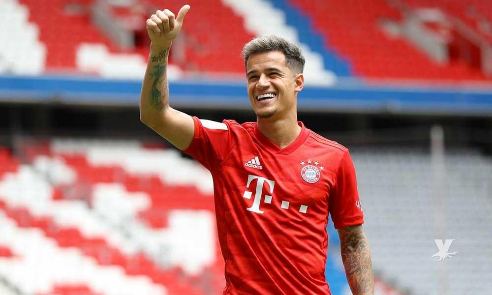Philippe Coutinho es presentado con el Bayern Munich