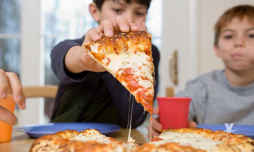 Enfermedades que puedes contraer por comer pizza