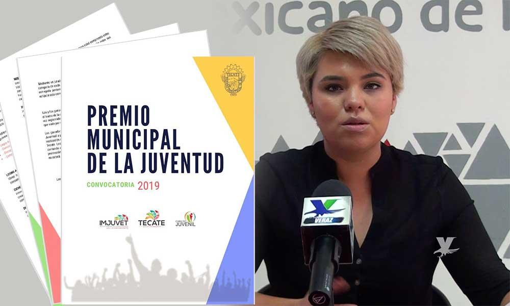 Invita IMJUVET a participar en el Premio Municipal de la Juventud 2019