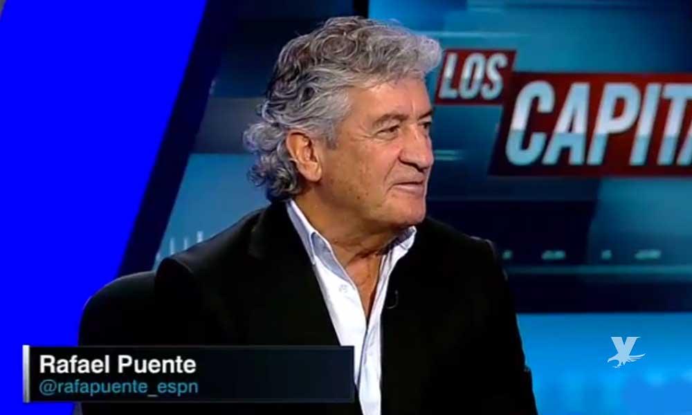 """(VIDEO) Rafael Puente de ESPN llama """"pobre cabr…"""" a jugador del Cruz Azul"""