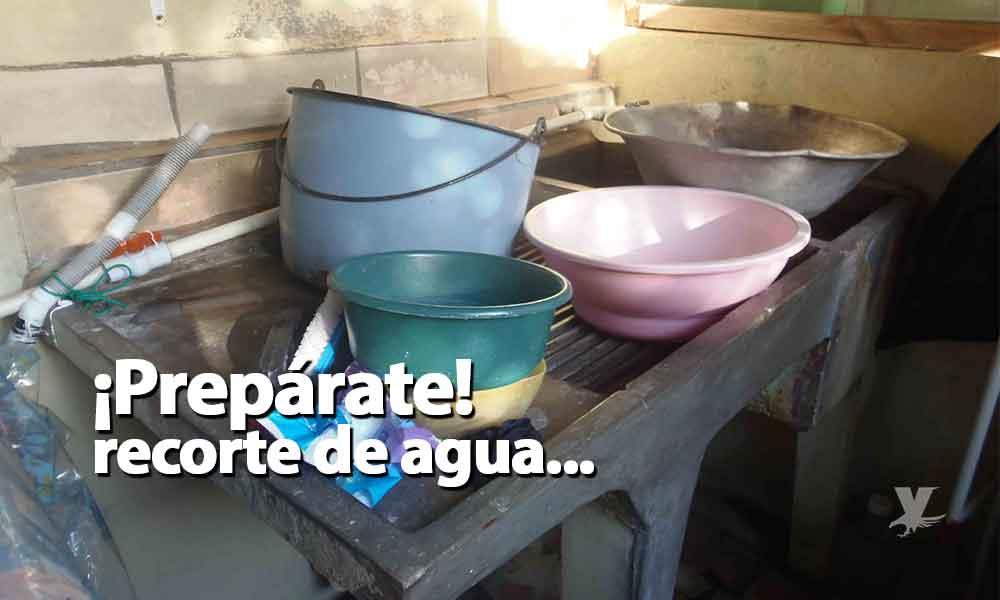 Cespte programa falta de suministro de agua potable en 8 colonias de Tecate