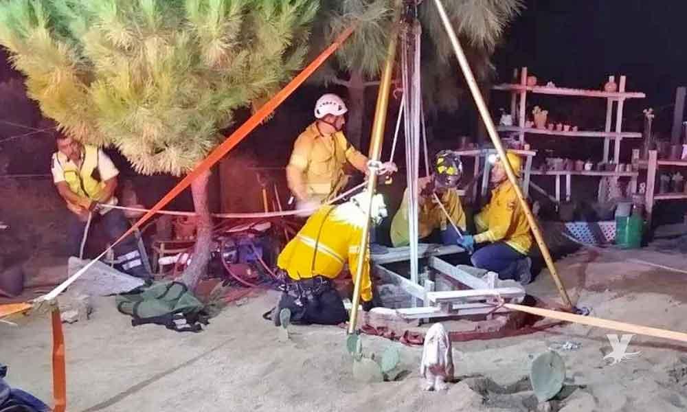 Dos personas murieron al caer en un pozo de 20 metros de profundidad en El Hongo