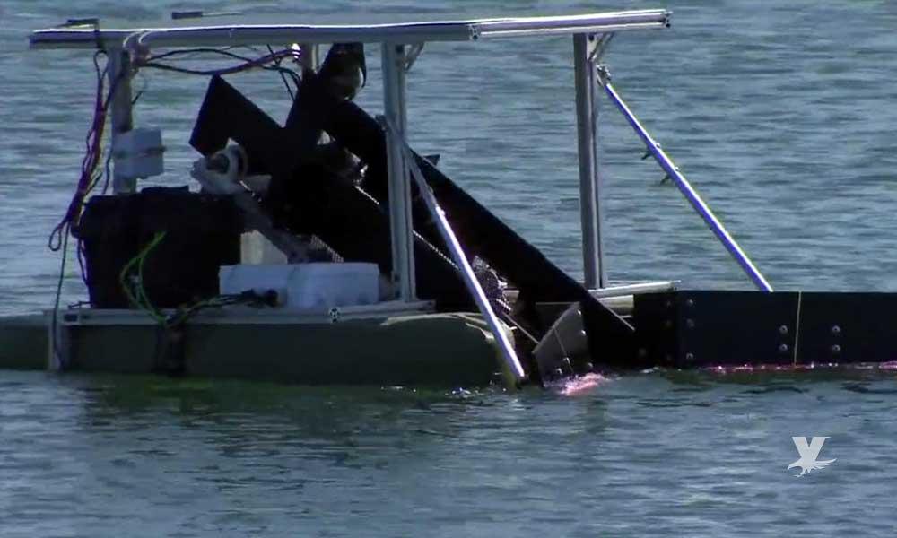 San Diego prueba un nuevo robot para limpiar el mar