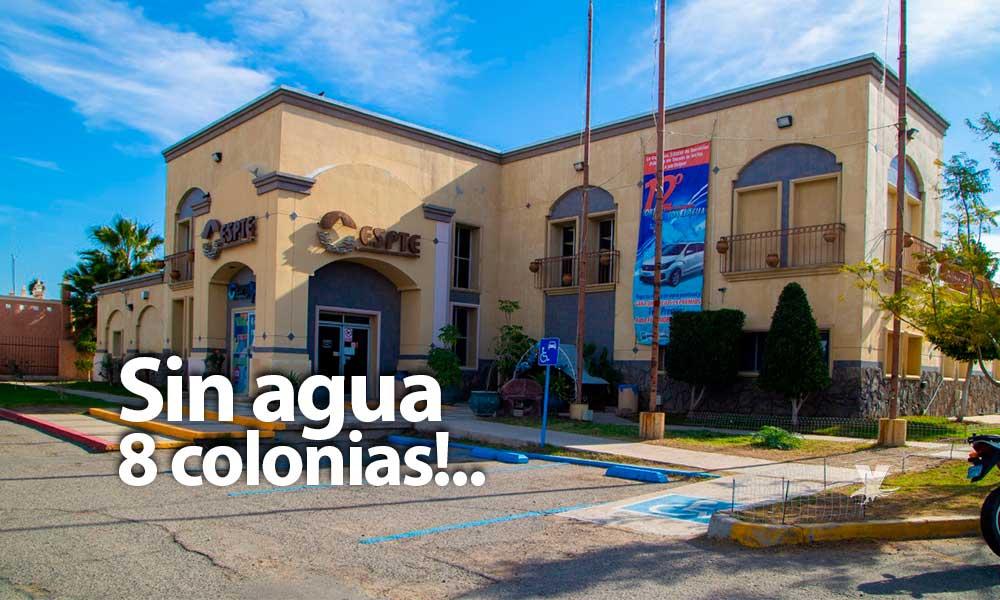 Suspenderán servicio de agua en la zona este de Tecate, 9 colonias sin agua