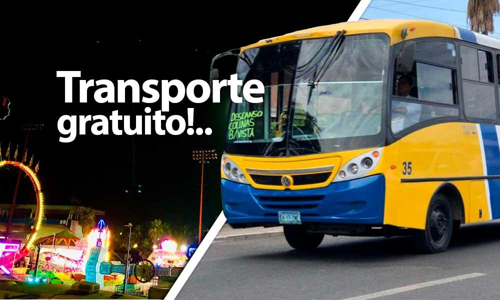 Habrá Transporte Gratuito durante la Feria Tecate en Marcha 2019