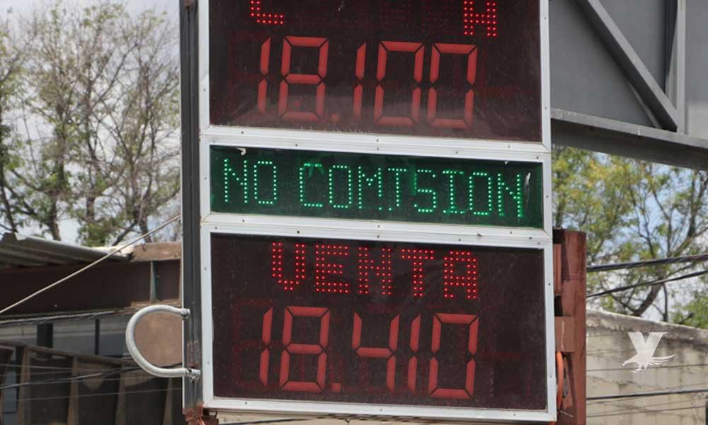 Dólar promedio en casa de cambio de Tecate