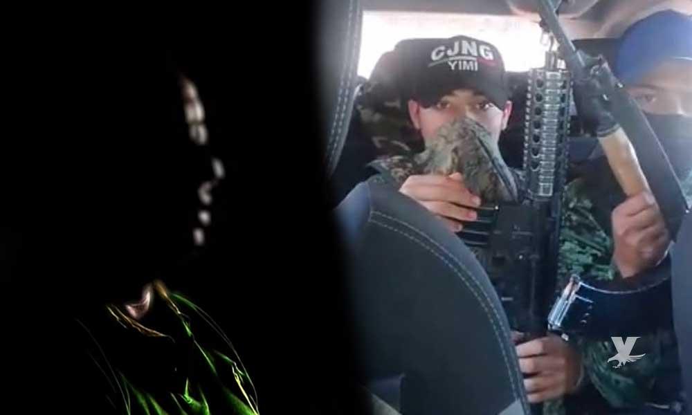 (VIDEO) Hombre habla del terror que vivió mientras formó parte del grupo de sicarios del CJNG