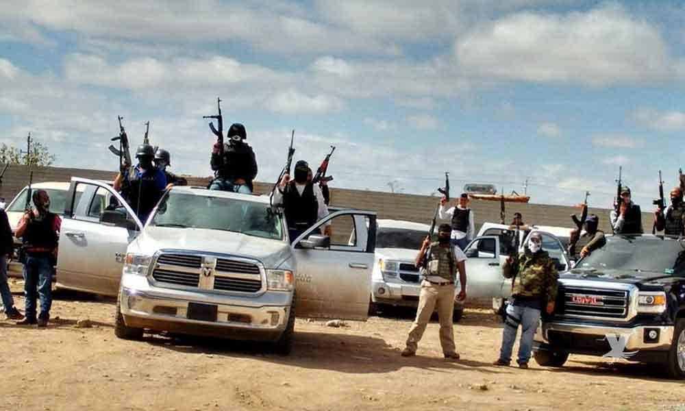 (VIDEO) Convoy del CJNG es grabado entrando a Guerrero para iniciar guerra contra otro grupo armado