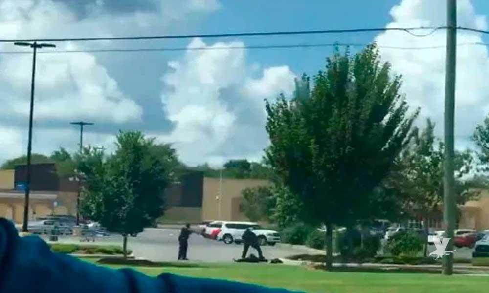 Se reporta nuevo tiroteo a las afueras de otra tienda Walmart