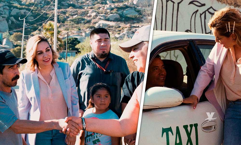 Realiza Zulema Adams jornada de asistencia social a colonia Mirador y Salamandra en Tecate