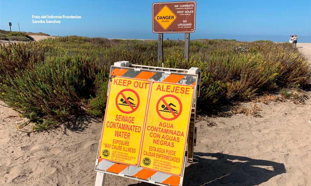 Alcalde de Imperial Beach dice estar 'harto' de las aguas residuales de Tijuana; hablará con Trump