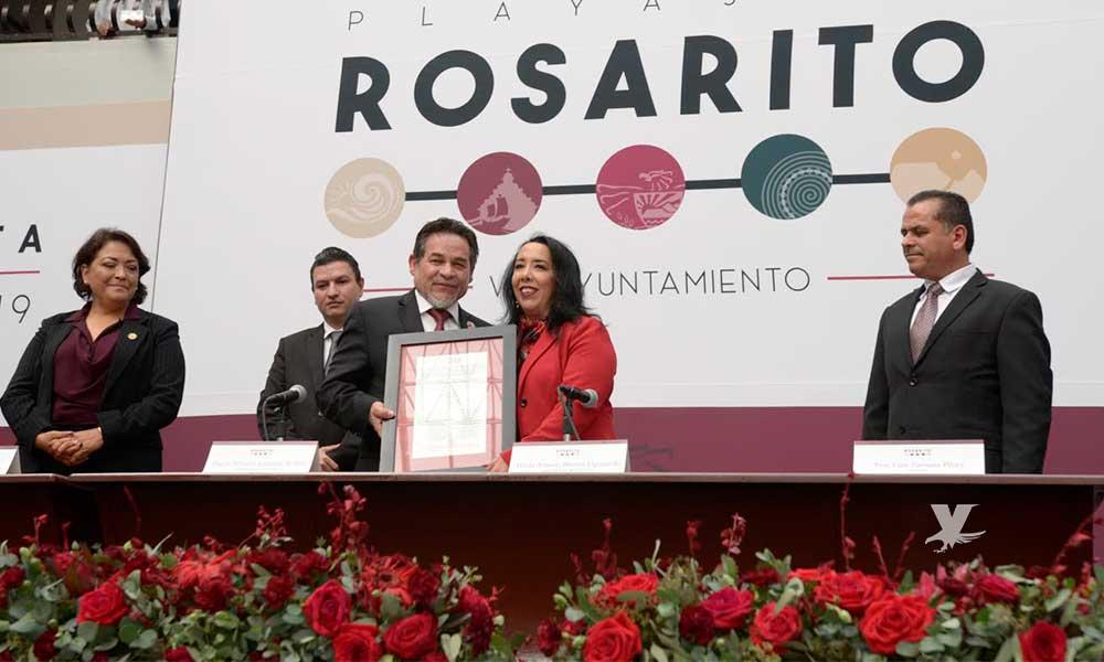 Toma protesta Araceli Brown como Presidente Municipal de VIII Ayuntamiento de Playas de Rosarito
