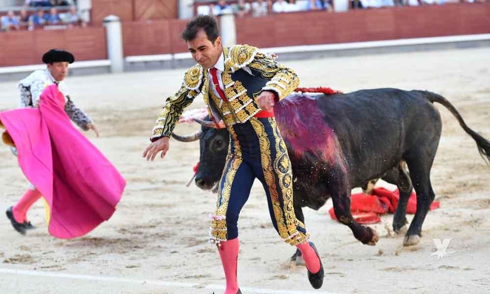 (VIDEO) Torero mexicano sufre terrible cornada en plaza de toros de Madrid