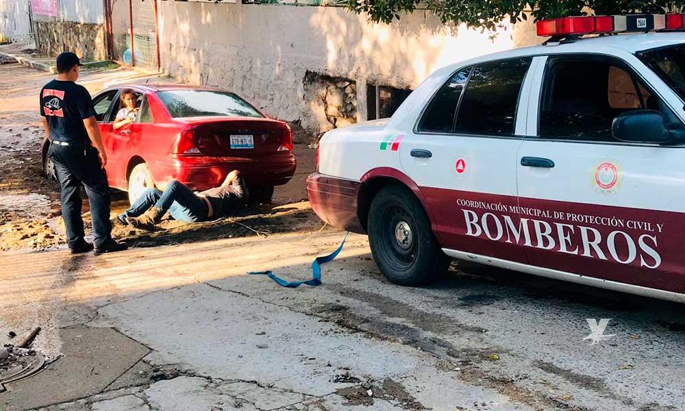Más de 60 reportes al 911 tras tromba que azotó a Tecate