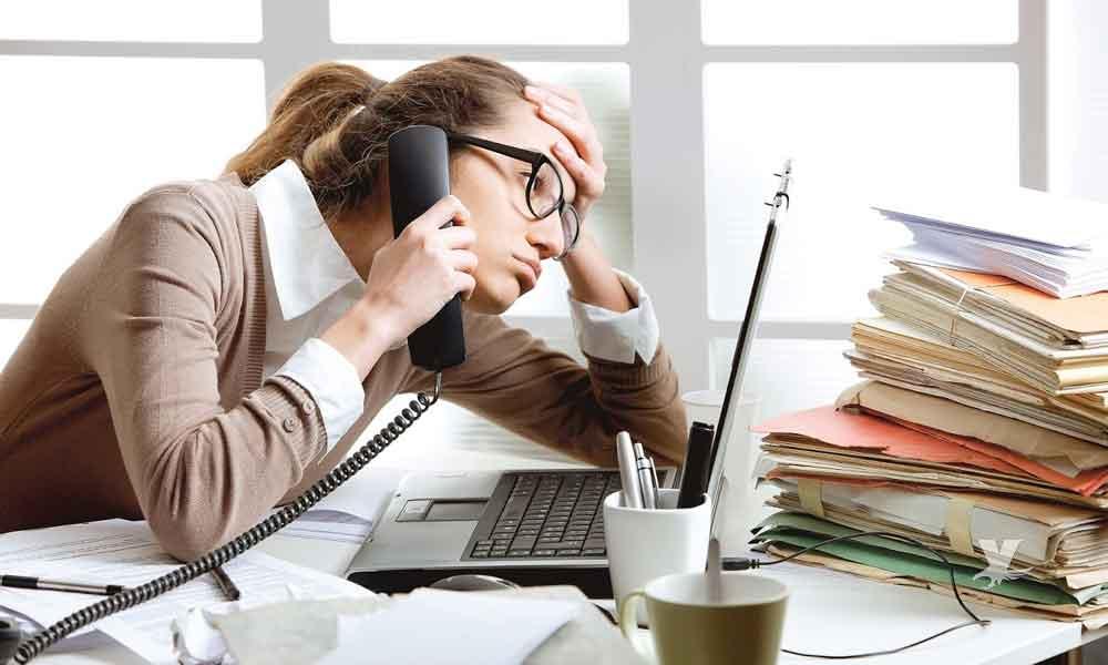 Estrés laboral puede provocar enfermedades físicas y mentales