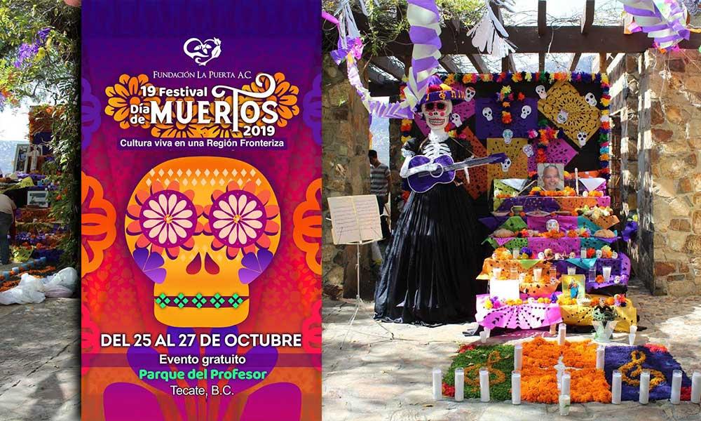 Convocan a centros escolares a participar en el 19º Concurso de Altares de Muertos en Tecate