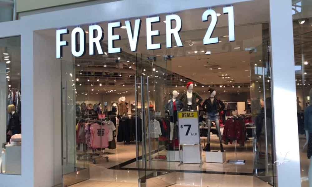 Forever 21 declarado en bancarrota