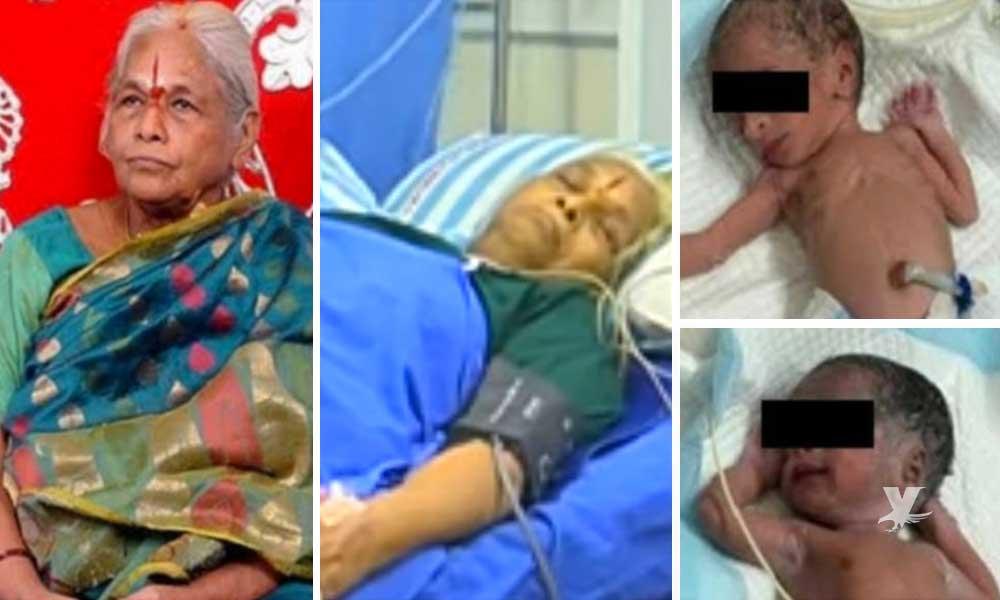 Muere mujer de 73 años que dio a luz a gemelas hace dos días