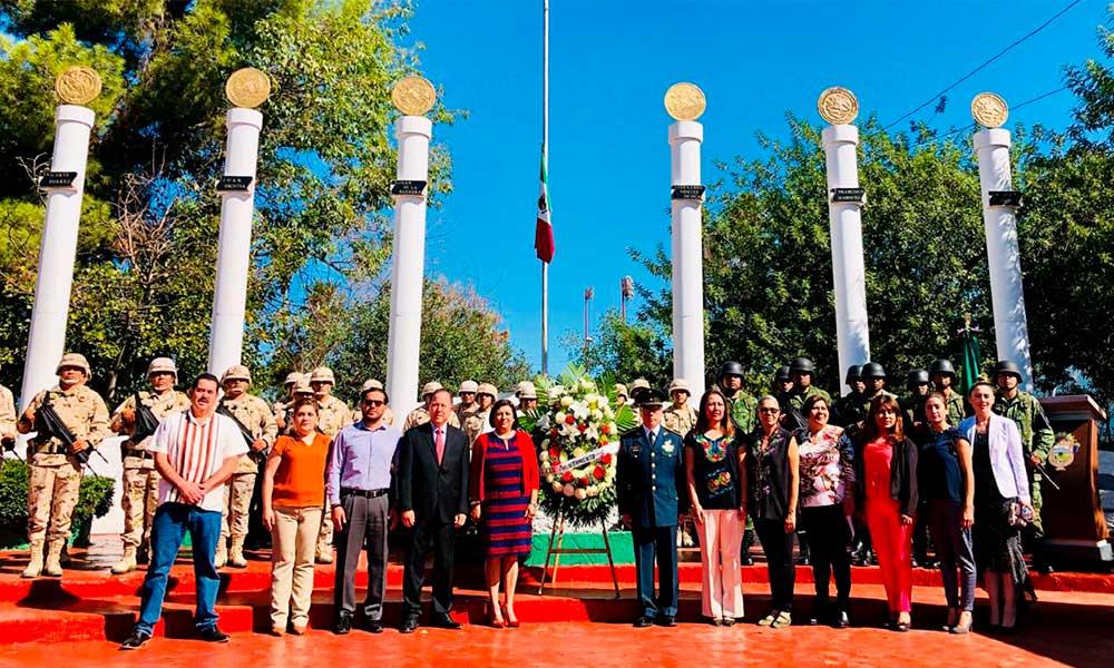 Tecate conmemora el 172 aniversario de la gesta heroica de Chapultepec